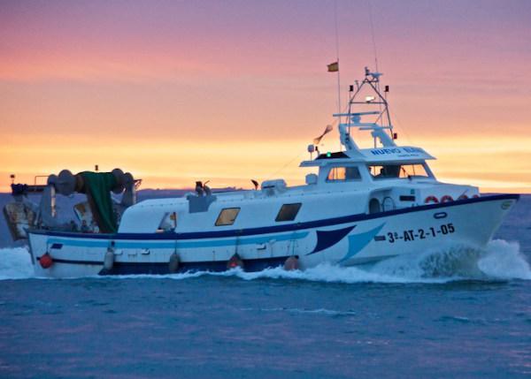 redes tambores barco sector pesquero